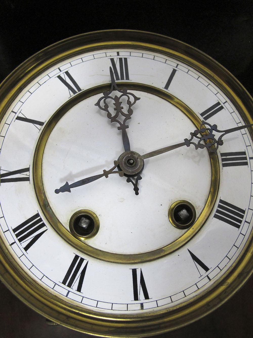 Antique german lenzkirch neo classical wooden regulator for German pendulum wall clocks