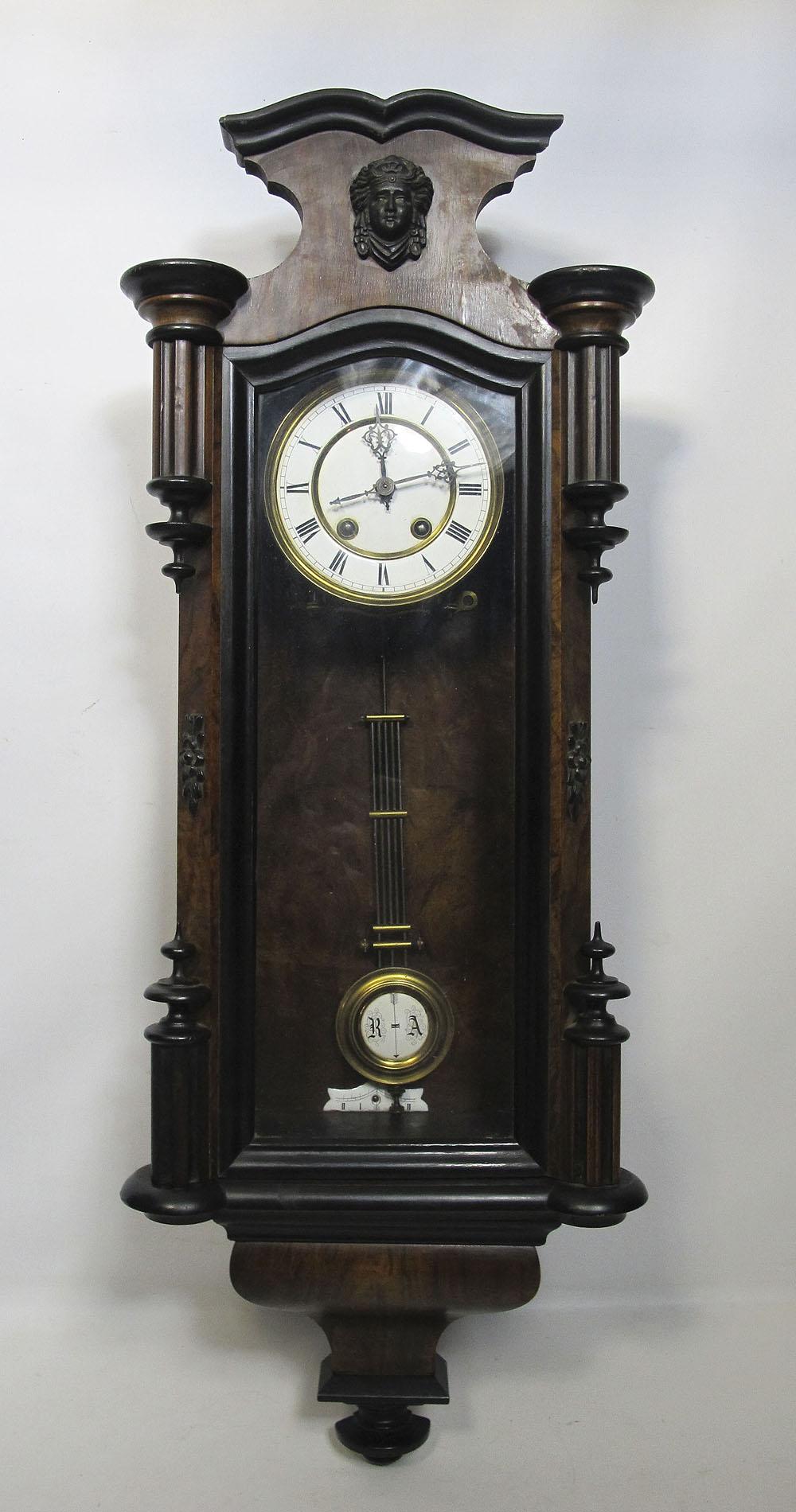 Antique German Lenzkirch Neo Classical Wooden Regulator ...